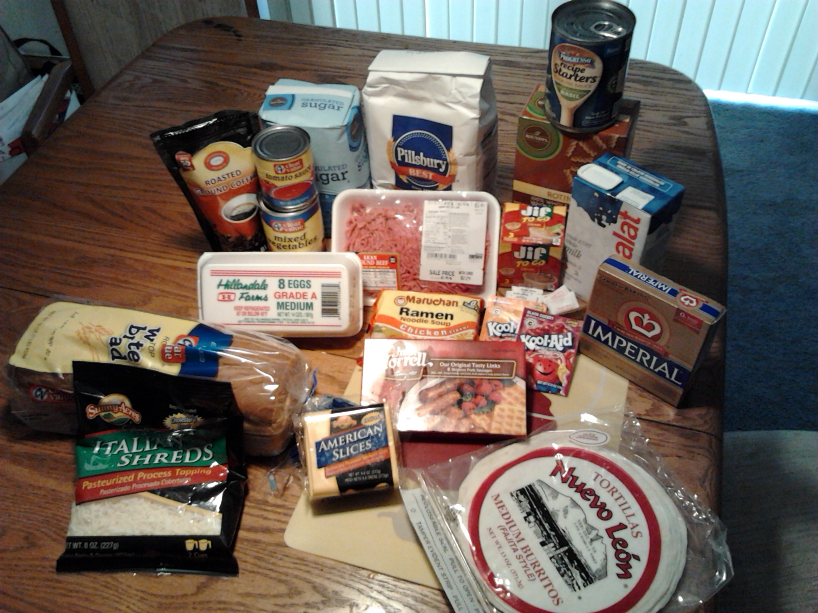 What food stamps are intended for.