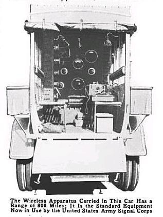 1914ArmyWirelessTruck