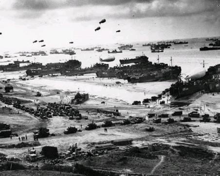 D-Day Landing (U.S. Army photo)