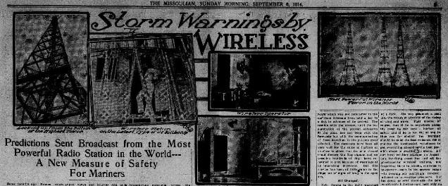 The Daily Missoulian, September 6, 1914.