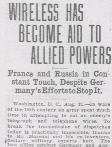 El Paso Herald, 21 Aug. 1914.