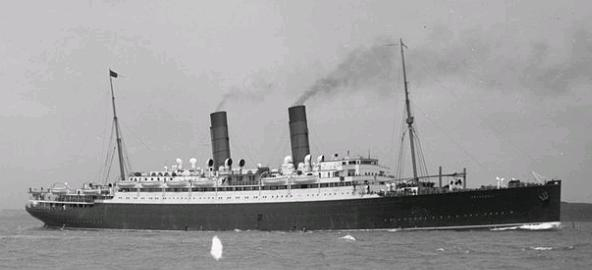 RMS Franconia (Photo, Wikipedia.)