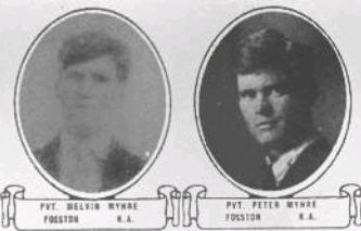 Melvin and Peter Myhre