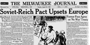 Milwaukee Journal, 22 Aug 1939.
