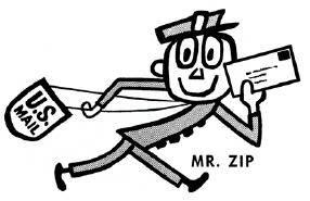Mr. Zip.