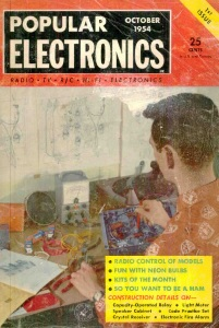 First issue of Popular Electronics