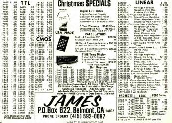 JamesElectronics1974Ad