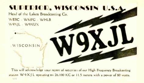 W9XJL QSL card,