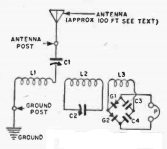 EmergencyXtalSetRadioTVExperimenter1955Schematic