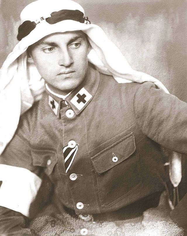Armin Wegner. Wikipedia photo.