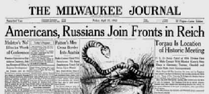 Milwaukee Journal, Apr. 27, 1945.