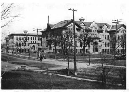 East High, 1912.