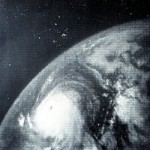 Hurricane Betsy satellite image, 4 Sept 1965. Wikipedia photo.