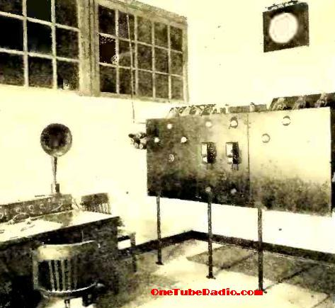 WOI operating room, 1925.