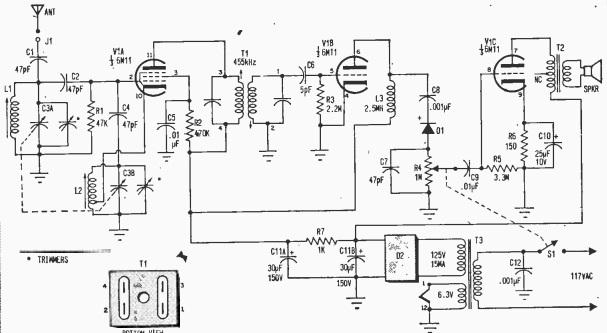 1970OneTubeSchematic