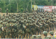 FARC Guerillas. Wikipedia photo.
