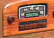 GE prewar FM tuner covering 42-50 MHz.