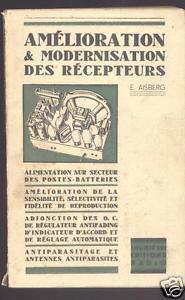 1942 edition of Amélioration et modernisation des recepteurs.