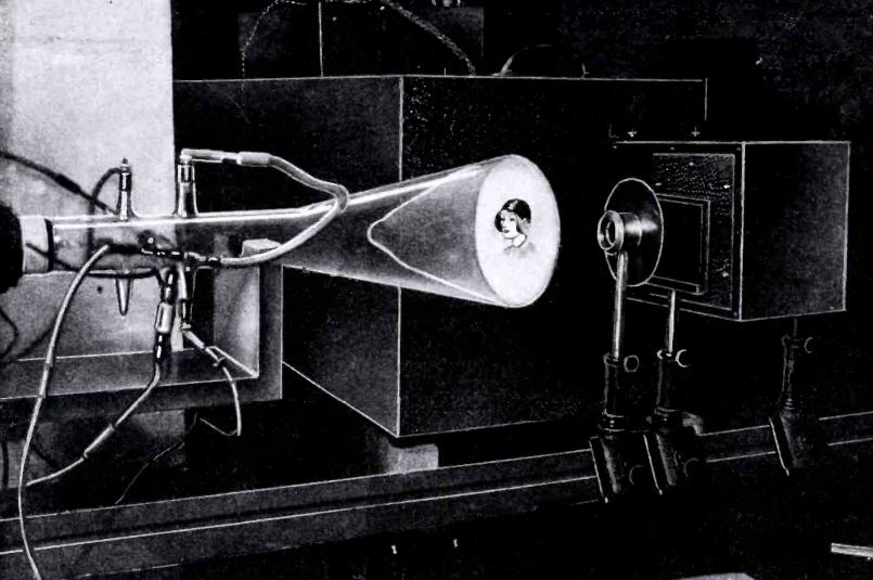1931ElectronicTVtransmission