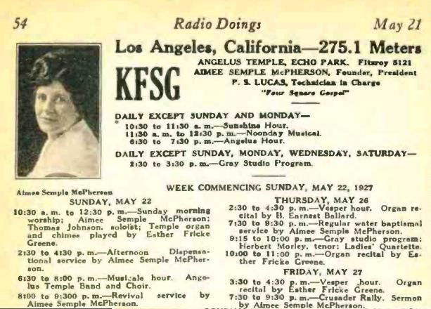 Radio Doings, ___, 1927.