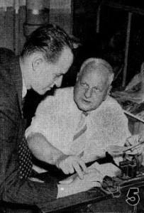 Sadowsky (left). Boys' Life magazine, Nov. 1941.