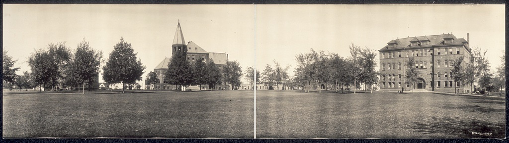 Highland Park College in 1914. Library of Congress.