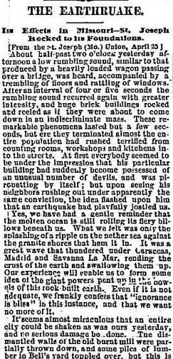 Chicago Tribune, Apr. 27, 1867.