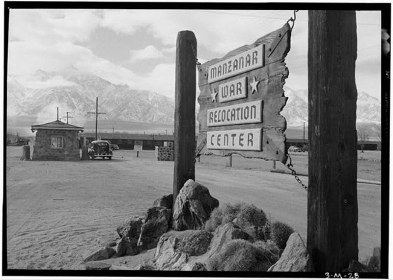 Manzanar Internment Camp. WPA/NPS image.