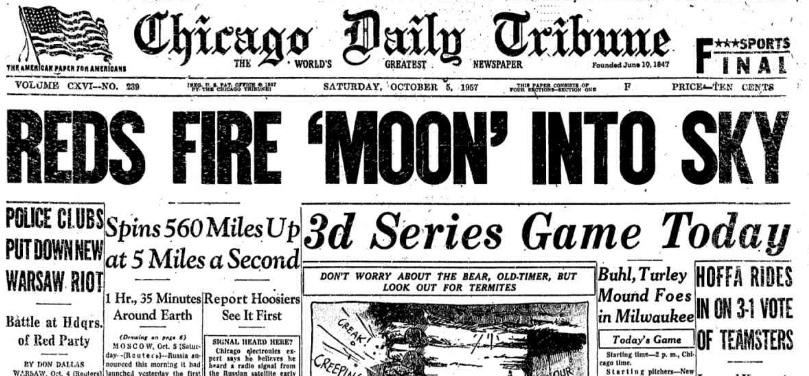 Chicago Tribune, October 5, 1957.