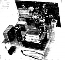 Hart-75 Transmitter. QST photo.