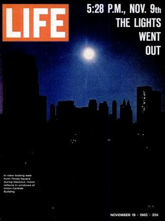 Image result for the great northeast blackout in 1965